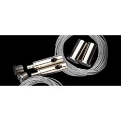 Giesemann Stahlseilset mit Feinjustierung (MATRIXX 4 fach)
