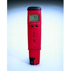 HANNA instruments Spritzwasserfester pH/°C-Tester, 0,1 pH Auflösung