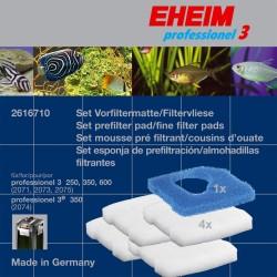 EHEIM Set Filtermatte/Filtervlies für professionel 3 250, 350 und 600, 3e 350