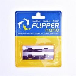 Flipper Nano Edelstahl-Ersatzklingen für Glas