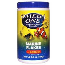 Omega Sea Marine Flakes mit Knoblauch 148 g (5.3oz)