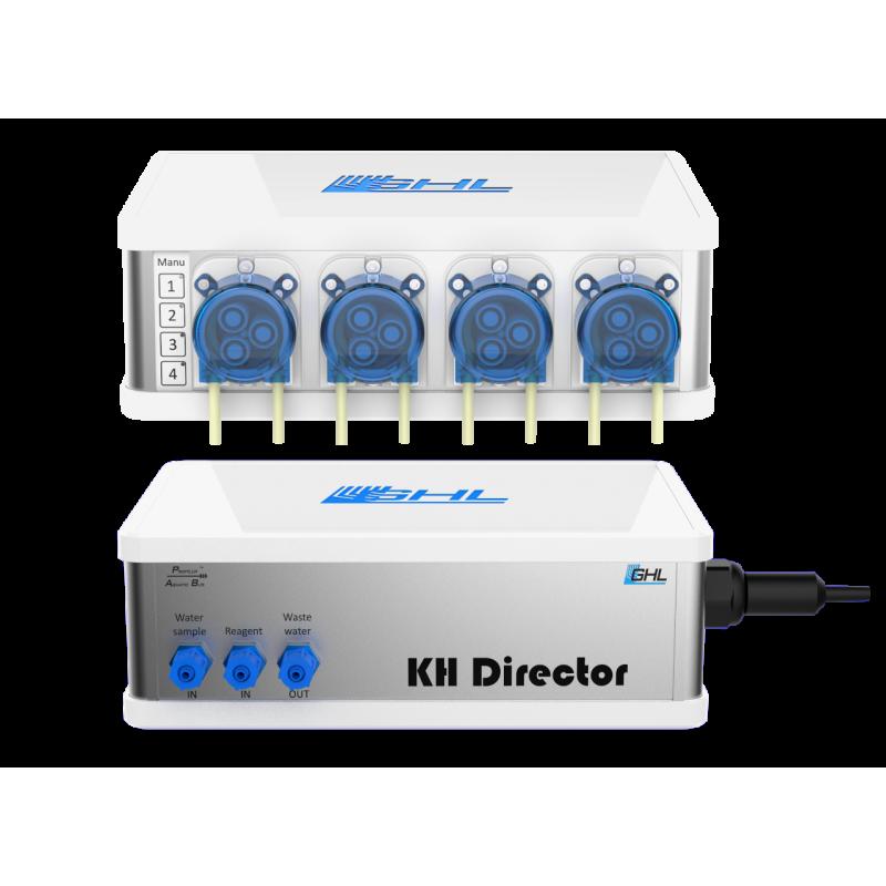 GHL KH Director & GHL Doser 2.1 SA, 4 Pumpen Set, weiß, Schuko (PL-1521)