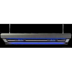 Giesemann AURORA HYBRID 600 mm 4 24 1 LED Panel 85W - irridium metallic