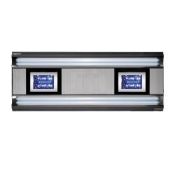 Giesemann AURORA HYBRID 600 mm 4 x 24 + 1 LED Panel 85W - polarweiß