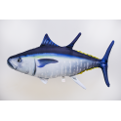 Gaby Atlantischer Blauflossen-Thunfisch Kissen, ca. 66 cm lang