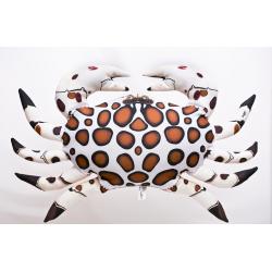 Gaby Krabbe Calico Kissen, ca. 60 cm lang