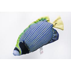 Gaby Imperator Kaiserfisch Mini Kissen, ca. 32 cm lang