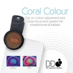 D-D Coral Lense - Die Korallen-Linse für Ihr Smartphone